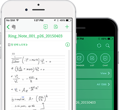 Neo Notes sync met Evernote